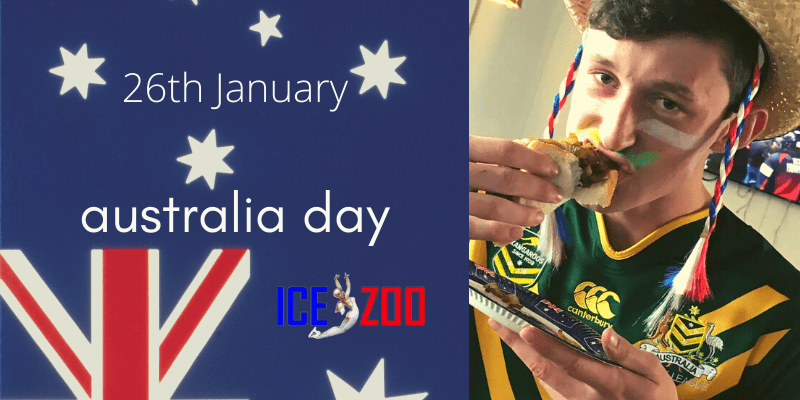 Ice Zoo celebrates Australia Day