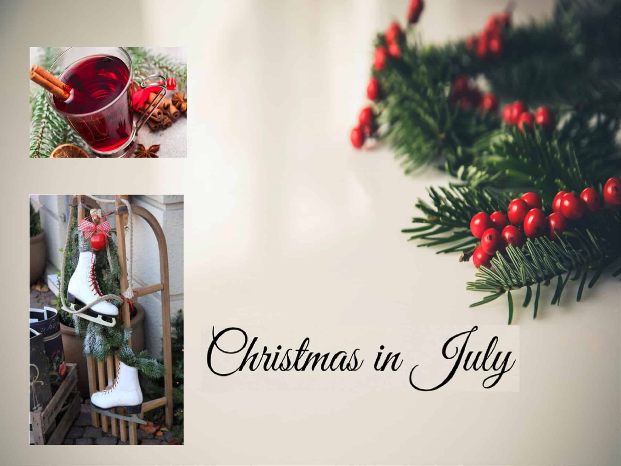 Christmas in July at Ice Zoo