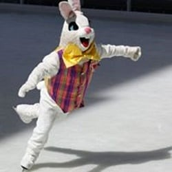 Skating through Easter